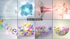 Particle Reveal Pack Bell Logo, Logo Reveal, Elegant Logo, Unique Logo, After Effects Templates, Packing, Abstract, Projects, Candy