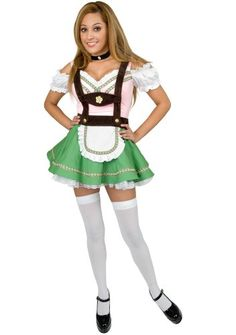 Bavarian Beer Garden Girl Costume  Small  Dress Size 57 ** Check this awesome product by going to the link at the image.