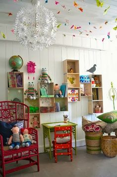 Great shelving for kids treasures