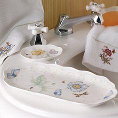Butterfly Meadow® Towel Tray by Lenox ♥♥ #iheartlenox