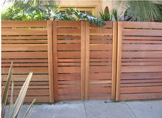 horizontal privacy fence panels - Google Search