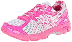 ASICS GT 1000 3 GS PR Running ShoeWhiteHot PinkPink Ribbon4 M US Big Kid -- To view further for this item, visit the image link. (It is an affiliate link and I receive commission through sales)