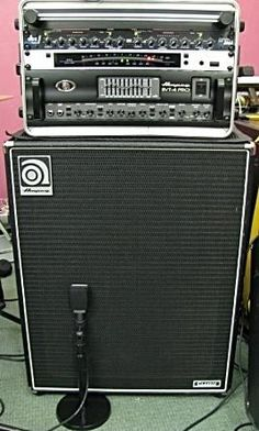 Ampeg Bass Rig