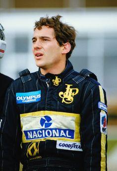 Ayrton Senna. Legend.