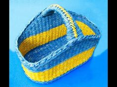 Asa para cesta con adorno. Parte 9.