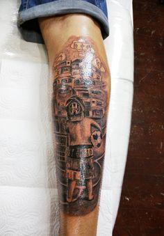 futboll tattoo
