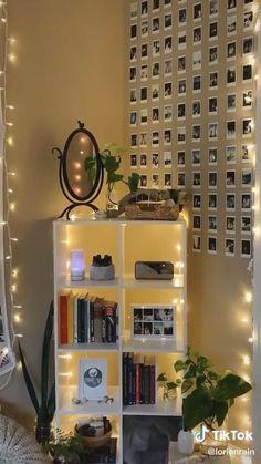 Room Design Bedroom, Room Ideas Bedroom, Cozy Bedroom, Bedroom Styles, Diy Bedroom Decor, Indie Room Decor, Aesthetic Room Decor, Cool Rooms, Diy Wall Decor