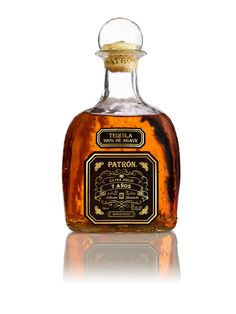 Patrón Extra Añejo 7 Años — The Dieline - Package Design Resource