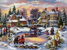 """Dimensions Counted #crossstitch kit 16"""" x 12"""" TREASURED TIME"""