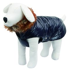 Dog Coat Kitzbühel 35cm Blue CanAgri