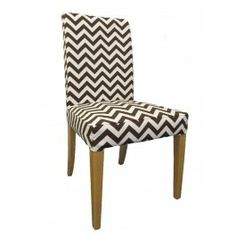 Chair Covers For Ikea Henriksdal Power Accessories Tray 26 Best By Knesting Com Images Bar Chairs Slipcover In Chocolate Chevron From Cover