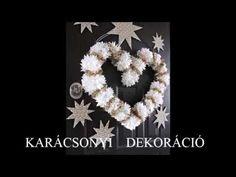 karácsonyi dekoráció - YouTube