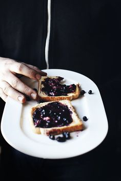 Blueberry Butter | At the breakfast table