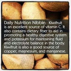 daily nutrition nibble
