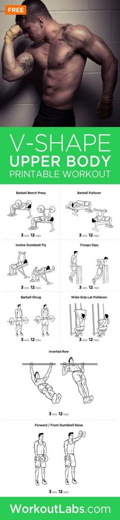 Chest Workouts, Gym Workouts, At Home Workouts, Upper Body Workout Plan, Workout Plans, Nutrition Crossfit, Nutrition Sportive, Printable Workouts, Glute