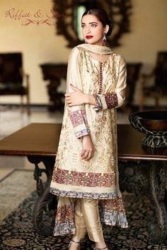 Sana Salman Formal Wear Dresses Collection 2014