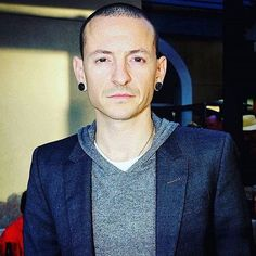 So so handsome (cred: @thechesterbe) #ChesterBennington #LinkinPark #MakeChesterProud #FuckDepression