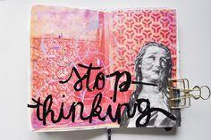 Caylee Grey :: Get Messy Art Journal Season of Serenity