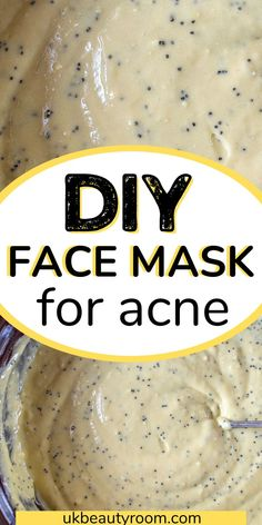 Do you want to try making a homemade face mask for acne? If you have acne, it can be hard to find a product that both works and is affordable. Many products contain harsh chemicals which can irritate your skin and make the problem worse. The good news is you don't need to spend tons of money on face masks or other acne treatments when there are so many DIY solutions out there! Make your own homemade face mask with natural ingredients like honey, cinnamon powder, lemon juice and aloe vera gel. Beauty Tips Blog, Beauty Tips For Hair, Diy Beauty, Beauty Hacks, Homemade Acne Mask, Good Healthy Recipes, Diy Skin Care, Organic Beauty, Food To Make
