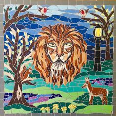 We have also had the Narnia mosaic image printed for the BS9 Arts Trail :-) Fx