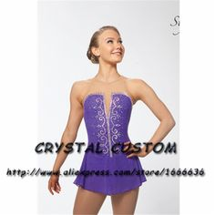Aliexpress.com : Buy Custom Made to Fit Ice Skating Dresses Graceful New Brand Figure Skating Dresses For Competition DR4261 from Reliable custom brand suppliers on Crystal Professional Custom Figure Skating Dresses Store