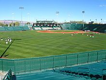 Suplizio Field in Grand Junction, Colorado is home to the Grand Junction Rockies, Colorado Mesa University Mavericks and the National Junior College Baseball World Series.