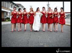 Short Black And Red Bridesmaid Dresses Stunning  Photos Of Dark Red Bridesmaid Dresses Bridalmagz Picture