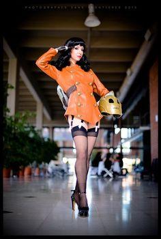 Version: Bettie Page - Pin Up. Atlanta, US. Cosplay Dress, Cosplay Girls, Steam Girl, Video Game Cosplay, Pin Up Photography, Bettie Page, Geek Girls, Geek Culture, Dieselpunk