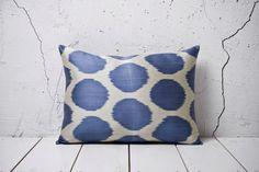 handmade ikat pillow cover  1457 x 2087  FAST shipment by YASTK