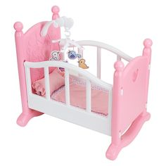 """You & Me – Rocking Cradle – Centresky Crafts – Toys""""R""""Us cradle size Gone are the days when decorating was a one particular-and-accomplished. Baby Dolls For Kids, Little Girl Toys, Baby Girl Toys, Toys For Girls, Baby Kids, You And Me Doll, Toys R Us, Kids Toys, Baby Doll Furniture"""