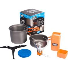 For solo hiking in not windy conditions, this little stove is great. I know Trangia is THE word in cook stoves and I have one for planned colder / wetter / windier conditions...but honestly, this little kit is fantastic for the price and hasn't let me down yet.