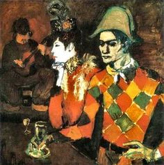 Lapin agile (harlequin with glass), 1905 Pablo picasso - Rose Period Kunst Picasso, Art Picasso, Picasso Paintings, Pierrot, History Of Modern Art, Art History, Picasso Rose Period, Picasso Pictures, Most Expensive Painting