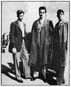 Lucien Carr, David Kammerer and Jack Kerouac