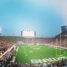 Feels good to be back #GoGreen #SpartyOn #MSUSpartans #Padgram