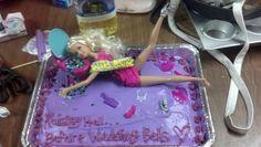 Drunk barbie bachelorette cake. ;)