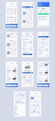Heaven Mobile UI Kit — UI Kits on UI8 #MobileApps