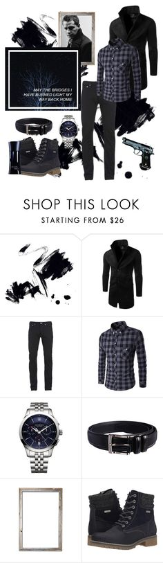 """Olivièr #1"" by boondock-saint1999 ❤ liked on Polyvore featuring Marmont Hill, Once Upon a Time, Paul Smith, Victorinox Swiss Army, Beretta, Florsheim, Tamaris, Giorgio Armani, men's fashion and menswear"