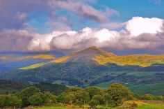 Clouds over the Lake District, Cumbria, England. Picture: James Lee of London