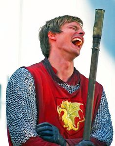 Repinned because more people should let themselves laugh as freely, unself-consciously, and whole-heartedly as Bradley James.