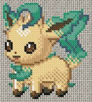 Leafeon pattern (one of my favorites!)