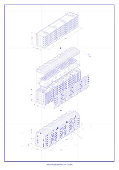 схема Architecture Board, Architecture Graphics, Japanese Architecture, Architecture Drawings, Sick Drawings, Axonometric Drawing, Working Drawing, Technical Drawing, Designs To Draw