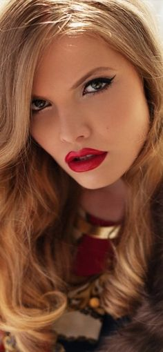 Vintage red lipsitck for sexy women #red #lipstick www.loveitsomuch.com