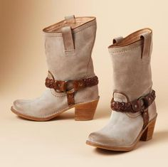 Carmen Braided Harness boots