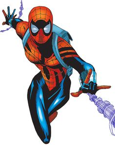 #SpiderGirl - Marvel MC2 comics - May Mayday Parker - Early profile