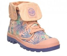 Palladium Women's Baggy Canvas Ankle Boot $89.95 petesshoesonline.com
