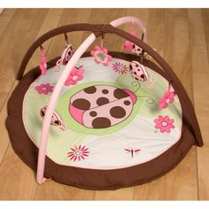 Pam Grace Lady Bug Lucy Playgym Playmat.Opens in a new window
