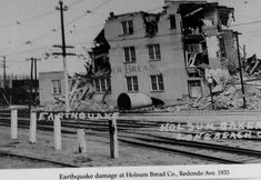1933 Long Beach Earthquake Long Beach California, California History, Southern California, Amazing Pics, Awesome, Signal Hill, San Luis Obispo County, Los Angeles Area, Natural Disasters