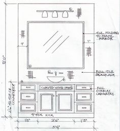 environmental graphic design restroom sign elevation drawing - Google Search