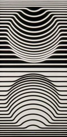 Victor Vasarely. Op Art is so inspirational for Zentangle patterns and Zentangle Inspired Art