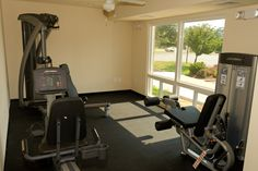 Yes, we offer a gym to residents at Cheverly Station, Landover, Maryland.